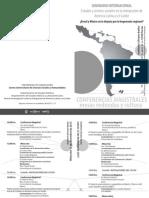 Diptico Seminario Internacional