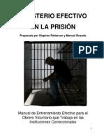 MINISTERIO EFECTIVO EN LA PRISIÓN