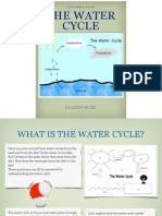 water cycle ebook