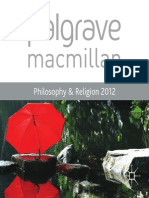 Palgrave Catalogue Philo Religion