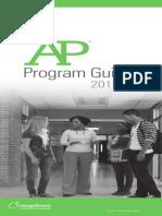 2012 AP Program Guide