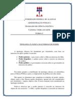 TRABALHO DE CIÊNCIA POLÍTICA