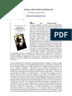 """David Riazanov, editor de Karl Marx, disidente rojo"" por Nicolás González Varela"