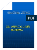 Presentacion Diseño de Pavimentos UNI