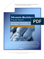 Muscle Building Nutrition (WILL BRINK) MUY BUENO