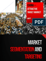 Topic 4 Part 2 Market Segmentation and Targeting