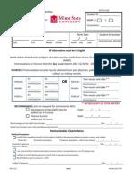 Immunization Form 2