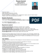 Resumen Curricular tenis Gilberto Gonzalez Panama.ppt