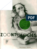 Wolfe, Cary - Zoontologies