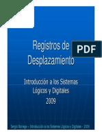 Tema 6 Registros de Desplazamiento 2009