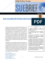 DPG Issue Brief Cyber Security