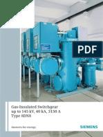 Gas-Insulated Switchgear GIS-8DN8-Ds-e