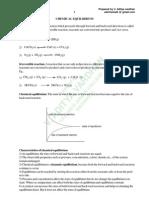 Chemical Equilibrium IPE