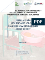 Manual Molinos CTI