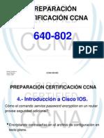 PREPARACIÓN CERTIFICACIÓN CCNA (CISCO IOS)