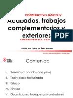 Capa Tec Proceso Constructivo Basico IV -Calidra