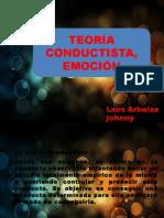 Teorias Conductista y Emocion