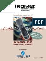 Romet R300 4-Page Brochure(1)