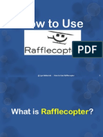 Tutorial on How to Use Rafflecopter
