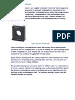 Current Transformer Basics