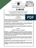 Decreto 803 Del 24 de Abril de 2013