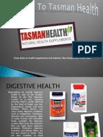 Welcome to Tasman Health Digestive Health