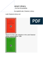 Loeb Classical Library Pdf