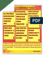 Poster Kebersihan Tangan