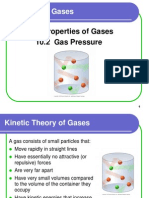 10.1,10.2 Properties of Gases and Pressure