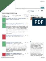 Loeb Classical Library Descriptive List