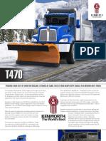 Kenworth t470 Brochure