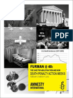 Amnesty International Death Penalty Awareness Weeks guide