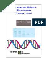 Basic Molecular Biology & Biotechnology Training Manual