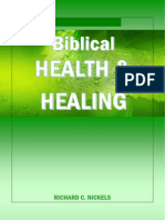 Biblical Health and Healing