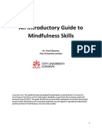 NHS Introductory Mindfulness Guide