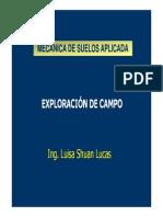 Exploracion Campo Resumen 2013