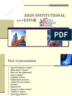 Foreign Institutional Investor