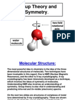 Chemistry 445 Lecture 7 Group Theory