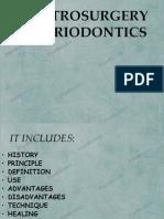 Electrosurgery in Periodontics