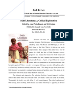 Book Review by D P Barad Dalit Literature Ed by AmarNath Prasad M B Gaizan[1]