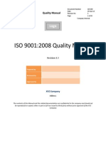 9001 Quality Manual