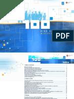 Propaganda da Xunta de Galicia sobre os 100 primeiros días do goberno de Feijoo