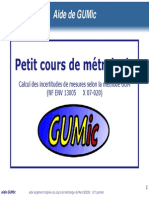 Calcul Des Incertitudes de Mesures Selon La Methode Gum Nf Env