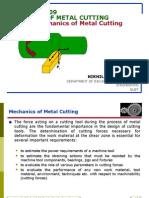 Theory of Metal Cuttingmechanics of Metal Cutting(2)