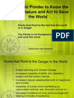 9 Points to Know the Truth and Save the World