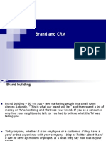 Brand and CRM