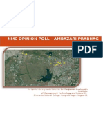 Exit Poll , NMC OPINION POLL – AMBAZARI PRABHAG
