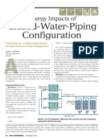 Energy Impacts of Chiller Water Piping Arrangement