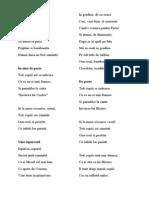 4 Poezii Paste