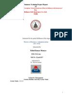 A Study on Customer Perception Towards Insurance Plans of Reliance Life Insurance Rahul Maurya